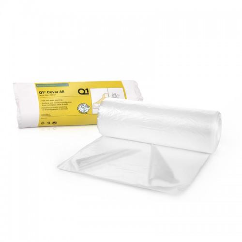 Q1 Cover All Dust Sheet Roll 4m x 25m
