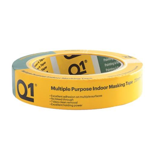 """Q1 Multi Purpose Indoor Masking Tape 1"""""""
