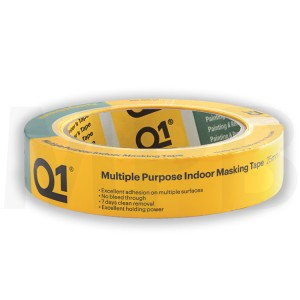 Q1 Multi Purpose Indoor Masking Tape 1""