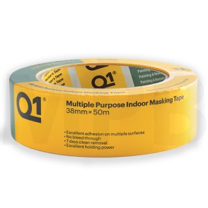 Q1 Multi Purpose Indoor Masking Tape 1.5""
