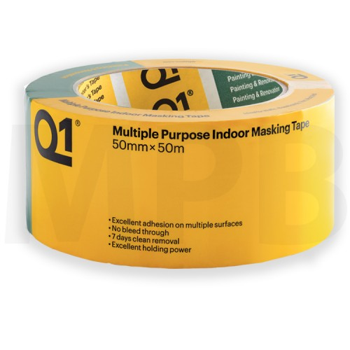 Q1 Multi Purpose Indoor Masking Tape 2""