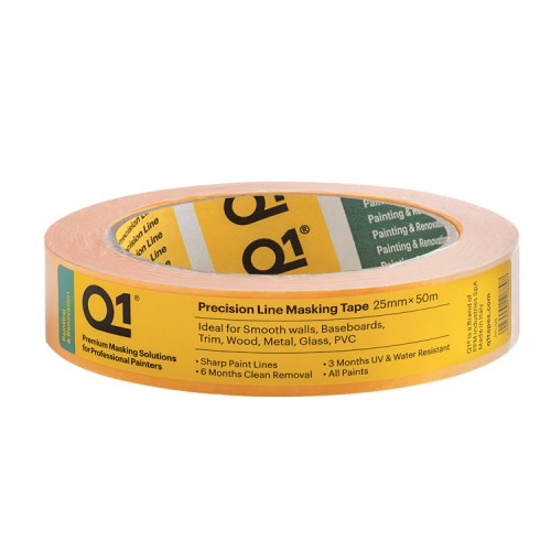 "Q1 Precision Line Masking Tape 1"" / 24mm"