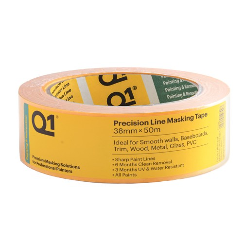 "Q1 Precision Line Masking Tape 1.5"" / 38mm"