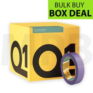 "Q1 Delicate Surface Masking Tape 1"" Box Of 36 + FREE T SHIRT & ROLL OF PAPER"