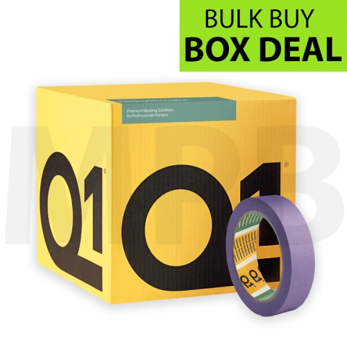 """Q1 Delicate Surface Masking Tape 1"""" Box Of 36"""