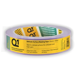 Q1 Delicate Surface Masking Tape 1""
