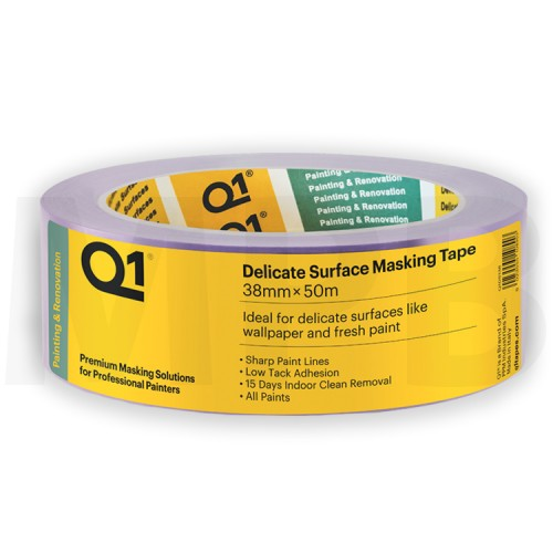 Q1 Delicate Surface Masking Tape 1.5""