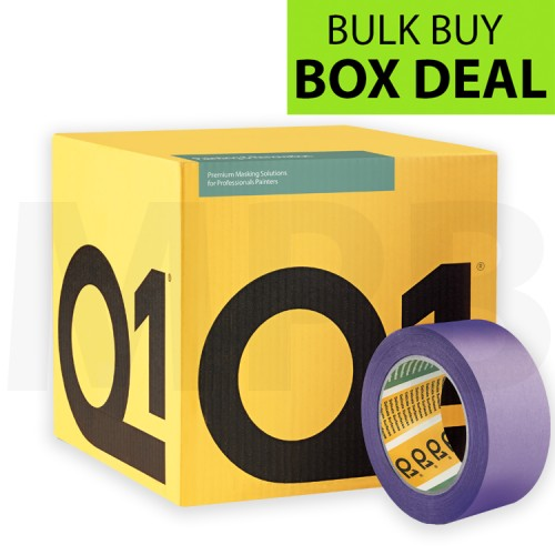 """Q1 Delicate Surface Masking Tape 2"""" Box Of 20"""