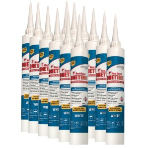 Red Devil OneTime Caulk 380ml (Case Of 12)