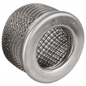 Q-Tech Stainless Steel Suction Filter 15 Mesh