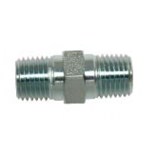 """Q-Tech High Pressure Hose Connection Adapter 1/4"""" x 1/4"""""""