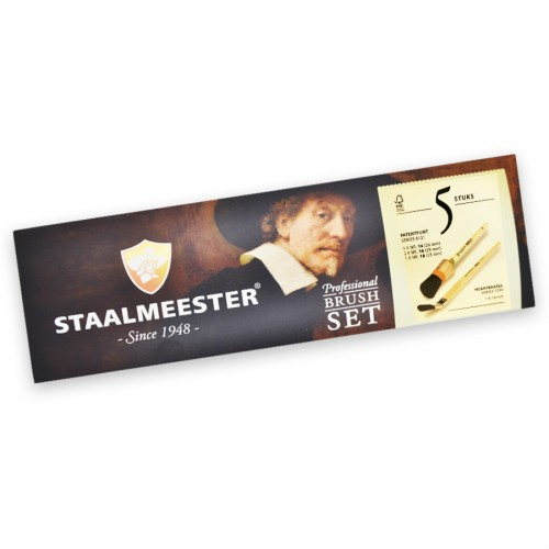 Staalmeester Bristle Set 5 Pack