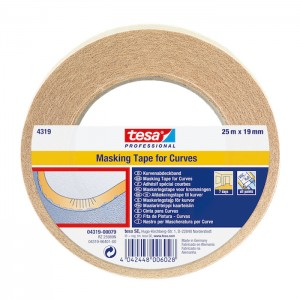 Tesa Masking Tape For Curves 0.75""