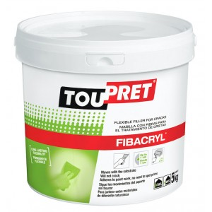 Toupret Fibacryl Flexible Crack Filler 5kg