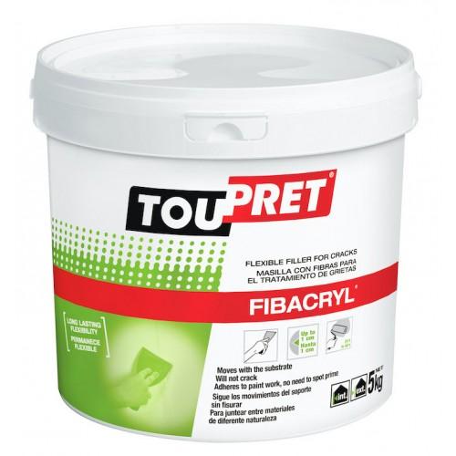 Toupret Fibacryl Flexible Crack Filler 5kg