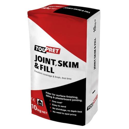 Toupret Joint, Skim & Fill 10KG