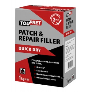 Toupret Patch & Repair Filler 1KG
