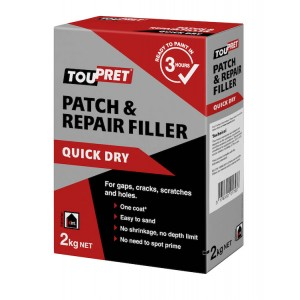 Toupret Patch & Repair Filler 2KG