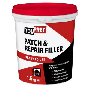 Toupret Patch & Repair Ready To Use 1.5KG