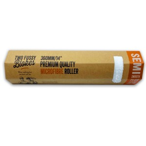 """Two Fussy Blokes 14"""" Semi Smooth Plus Roller Sleeve (15mm)"""