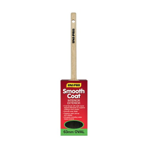 """Uni-Pro Smooth Coat Oval Straight 2.5"""" Cutter"""