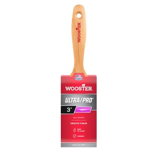 """Wooster Ultra/Pro Soft Sable 3"""" Straight Varnish Paint Brush"""