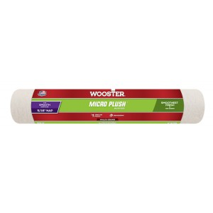 """Wooster Micro Plush 14"""" Roller Sleeve 5/16"""" Nap"""