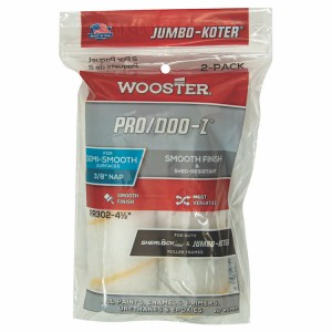"Wooster Jumbo Koter Pro/Doo-Z 4.5"" Mini Rollers Twin Pack"