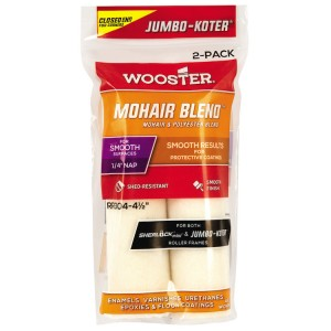 """Wooster Jumbo Koter Mohair Blend 4.5"""" Mini Rollers Twin Pack"""