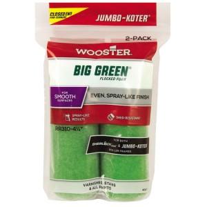 "Wooster Jumbo Koter Big Green 4.5"""