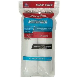 "Wooster Jumbo Koter Microfiber 6.5"" Mini Rollers Twin Pack"
