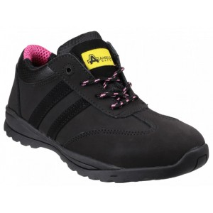 Amblers Ladies Lace Up Safety Shoe FS706