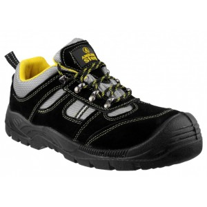 Amblers Lightweight Lace Up Safety Trainer FS111