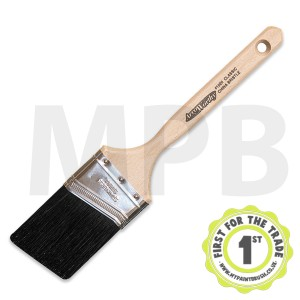"Arroworthy Black China Angular Sash 1"" Brush"