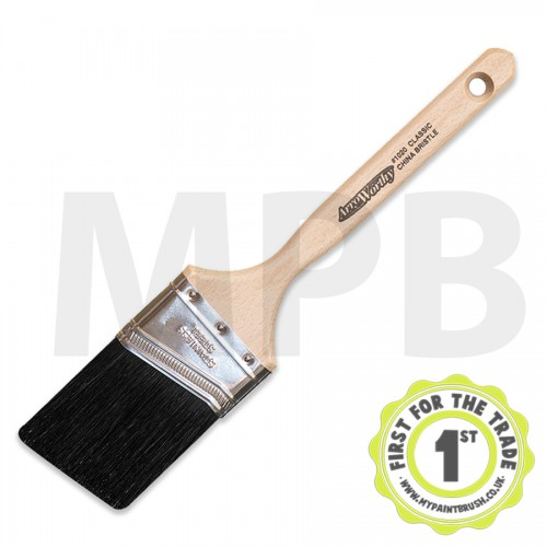 "Arroworthy Black China Angular Sash 3"" Brush"