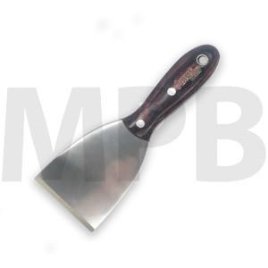 "Axus Stainless Steel HD 3"" Pakka Hardwood Scraper"