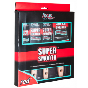 Axus Decor Red Super Smooth 4 Pack