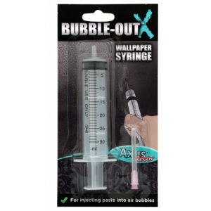 Axus Decor Bubble Out Syringe