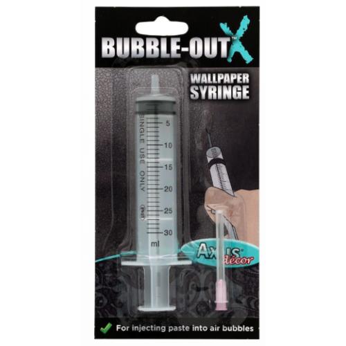 Axus Decor Bubble Out Syringe