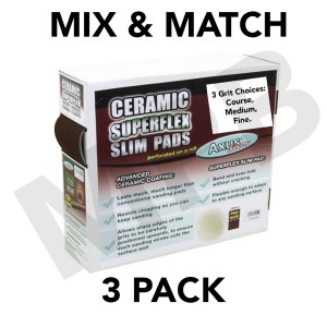 Axus Ceramic Superflex Slim Pads 'MIX AND MATCH'