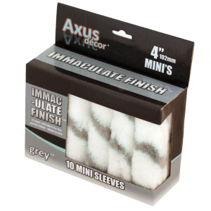 Axus Immaculate Finish Mini Roller Pack Of 10