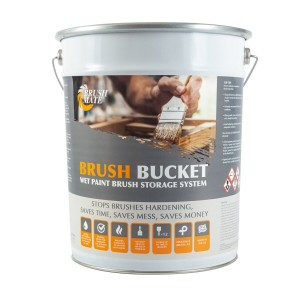 Brush Mate Brush Bucket 12 Paint Brush Storage System