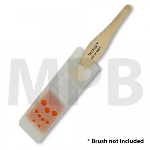 """Plastic Brush Storage Case 1.5"""""""