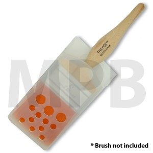 Plastic Brush Storage Case 3""