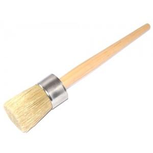 Round Wax Brush Large