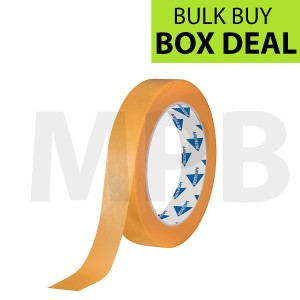 "Deltec Gold Masking Tape 0.7"" Box of 48"