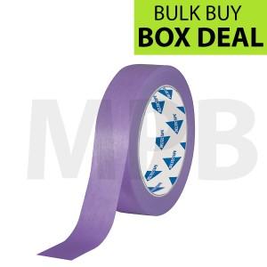 """Deltec Purple Masking Tape Delicate 1"""" Box Of 36"""