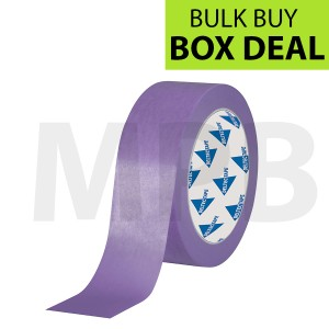 "Deltec Purple Masking Tape Delicate 1.5"" Box Of 24"