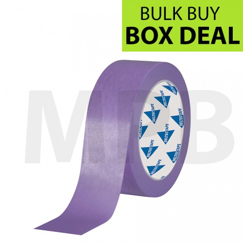 """Deltec Purple Masking Tape Delicate 1.5"""" Box Of 24"""