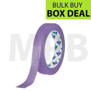 """Deltec Purple Masking Tape Delicate 0.75"""" Box Of 48"""